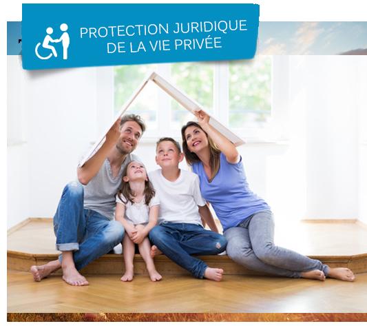 Famille qui se protège des accidents de la vie privée